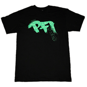 MENS T-SHIRT (GREEN LOGO)