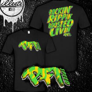 Rockin' Rippin' Boosted Livin' T-Shirt