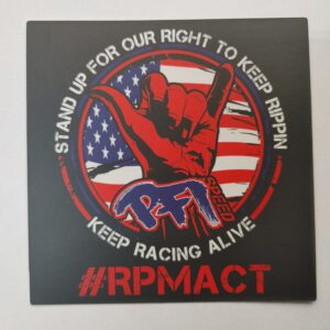 RPM Act Sticker